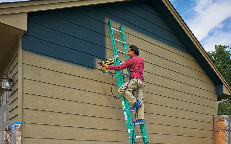 pintando casa